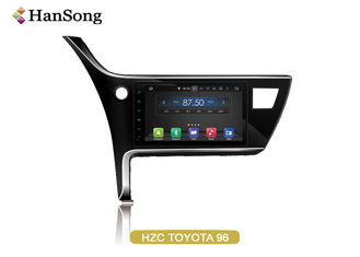 China Toyota Corolla Car Stereo Full Touch Nxp 6686 Support  5 Points Touch supplier