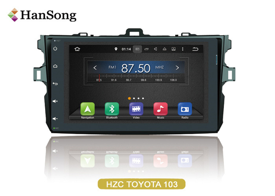 China Navigation System Android Car DVD Player For Toyota Corolla 2007 , Android Car Stero supplier