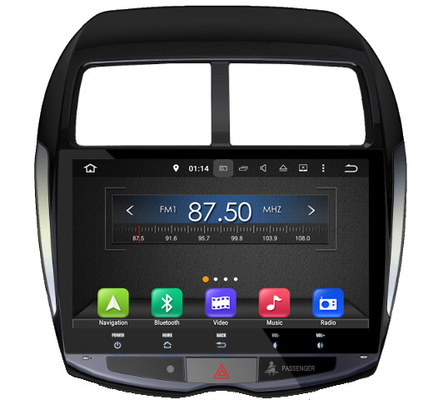 China 10.1  Inch Mitsubishi Car DVD / Vehicle Dvd Player Android Version 7.x supplier