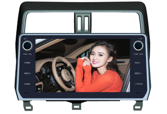 China Toyota Prado 2018 Android Car DVD Player 10.1 Inch GPS Android Version 8.0x supplier