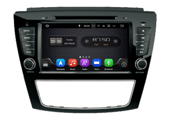 JAC S5 Android CAR DVD Player Build In GPS 2G / 16G Ram