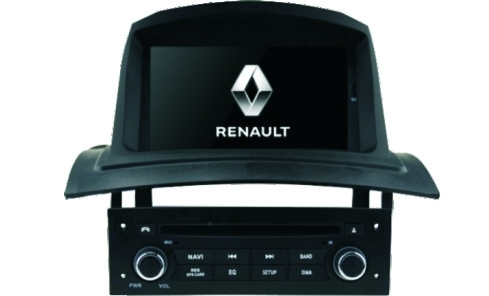 7 Inch Renault DVD Player / Renault  MEGANE2 Digital TFT LCD Monitor 16/9